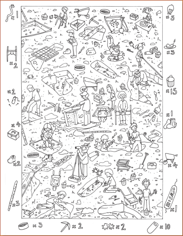 find coloring pages - photo#2