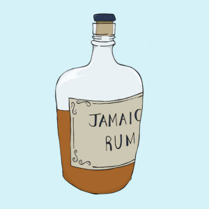 Museum of London illustration - Rum